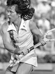 billie jean king tennis jamstalldhet